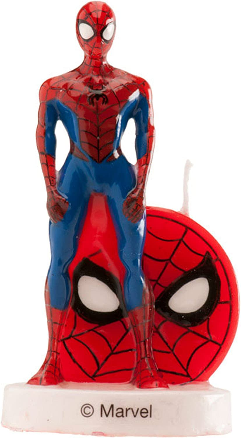 Swell Dekora Spiderman 3D Birthday Cake Candle Amazon Co Uk Toys Games Personalised Birthday Cards Paralily Jamesorg