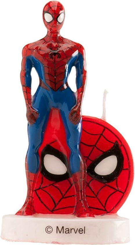 Phenomenal Dekora Spiderman 3D Birthday Cake Candle Amazon Co Uk Toys Games Funny Birthday Cards Online Drosicarndamsfinfo