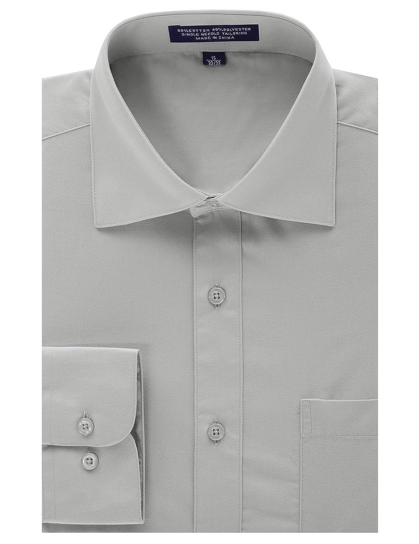 Mondaysuit Mens Regular Fit Dress Shirt Wreversible Cuff Bigtall