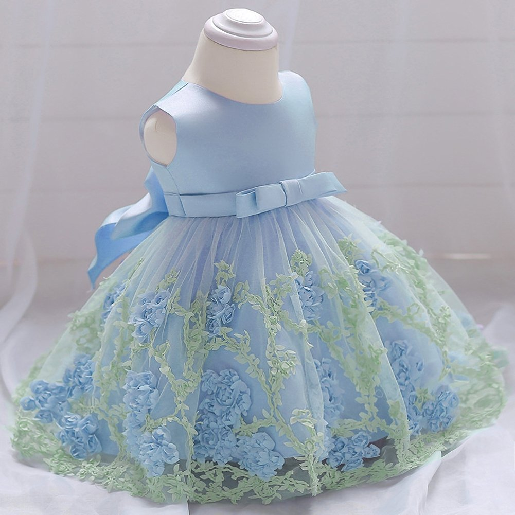 Dressy Daisy Baby Girls Dresses Pageant Dress Wedding Flower Girl Dress