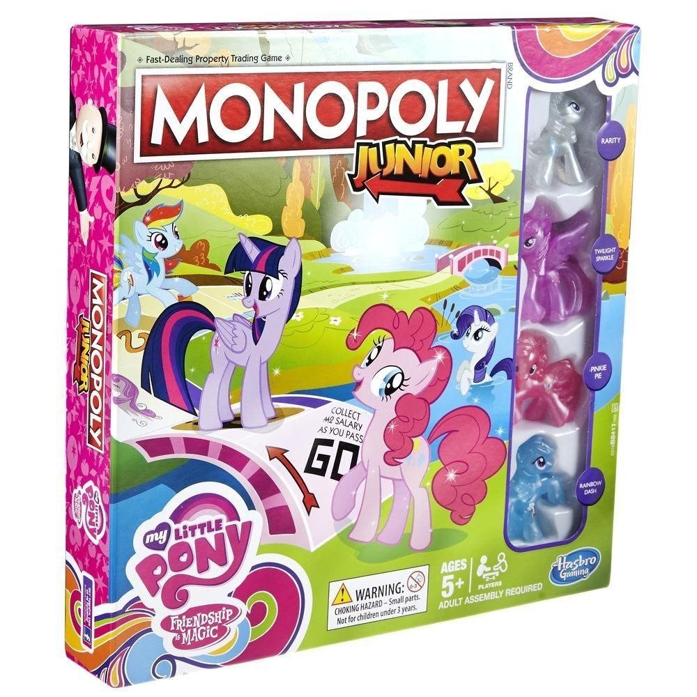 Monopoly Junior My Little Pony: Amazon.es: Libros en idiomas extranjeros