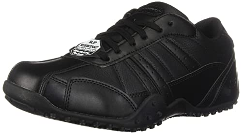 7afa8a5f68f02 Skechers for Work Men's Elston Relaxed Fit Slip Resistant Shoe