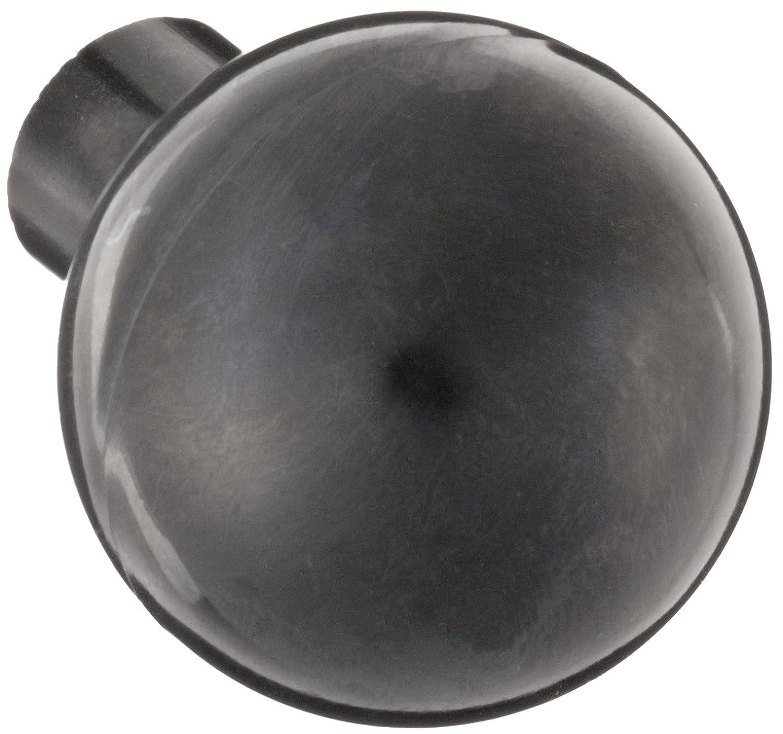 Davies Thermoset Ball Knob, Smooth Rim, Threaded Hole, 1/4'-20 Thread Size X 3/8' Thread Length, 1-1/4' Diameter (Pack of 5)