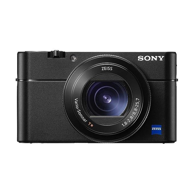 Sony DSC-RX100 V Digitalkamera (20,1 Megapixel, Stacked Exmor RS Cmos Sensor, 40-Fach Zeitlupe, Anti-Distortion Verschluss, 2