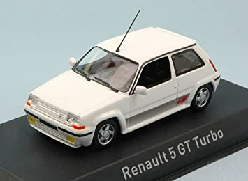 NOREV NV510521 RENAULT 5 GT TURBO 1989 WHITE 1:43 MODELLINO DIE CAST MODEL: Amazon.es: Juguetes y juegos