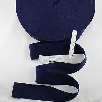 Nachtblau Einfa/ßgurt Einfa/ßband 4 cm kawenSTOFFE Gurtband