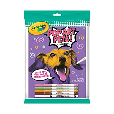 Crayola 04-0400 Pop Art Pets, Multicolor: Arts, Crafts & Sewing