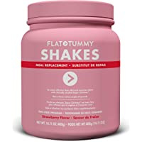 Flat Tummy Shake It Baby Protein Shakes, 10 Meal Replacement Packs, Strawberry Flavour