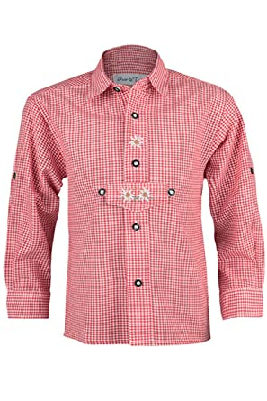 Camisa para ni/ño Isar-Trachten