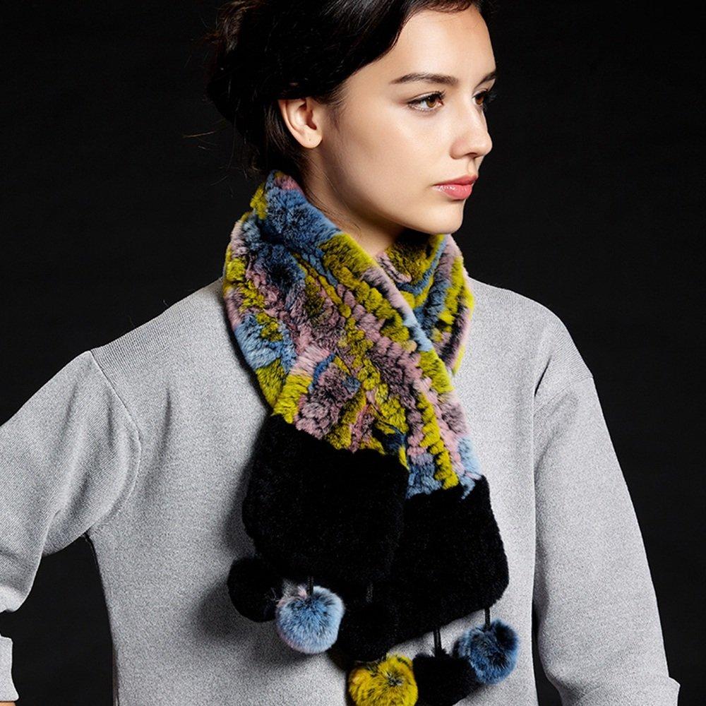 HAIZHEN alla moda alla moda Elegante caldo tessitura invernale d'autunno Morbido e caldo ( Colore : C )