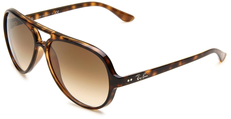 4962226186 Ray Ban Rb4125 Cats 5000 Dark Cyclamen Frame Grey Gradient Lens Plastic  Sunglasses  Amazon.co.uk  Clothing