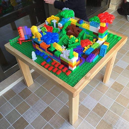 YL LY Kindergarten Mesa de Madera para Niños Grandes Partículas ...