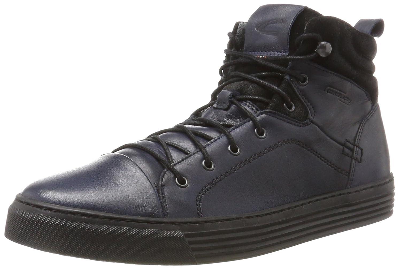camel Hohe active Herren Bowl 32 Hohe camel Sneaker Blau (Denim/Black) 877555