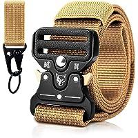 MELLIEX Cinturón Táctico, Correas de Nylon Resistentes Transpirables Ajustable con Hebilla de Aleación de Zinc para…