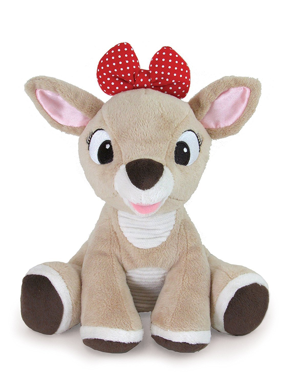 Kids Preferred Rudolph the Red-Nosed Reindeer, Clarice Stuffed Animal, 8' 8 23017