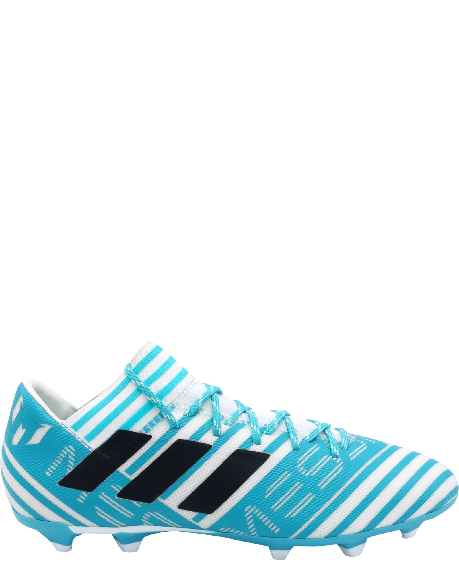 adidas Men's Nemeziz Messi 17.3 FG Soccer Shoe, White/Legend Ink/Energy Blue, 8 Medium US