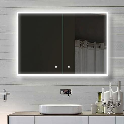 Beste Bilder über badezimmer spiegelschrank mit beleuchtung - Am ...