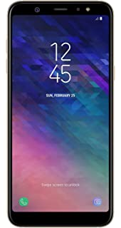 Samsung Galaxy A6 Plus 2018 Duos 32 Gb Gold Amazon De Elektronik