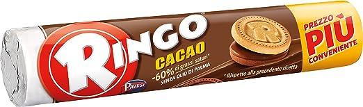 8 opinioni per Ringo- Biscotti Farciti con Crema, al Gusto di Cacao- 9 pezzi da 165 g [1485 g]