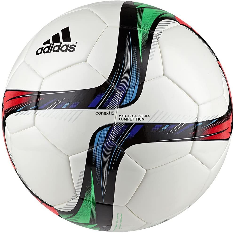 adidas Conext 15 Competition Deportes Pelota, White/Night Flash ...