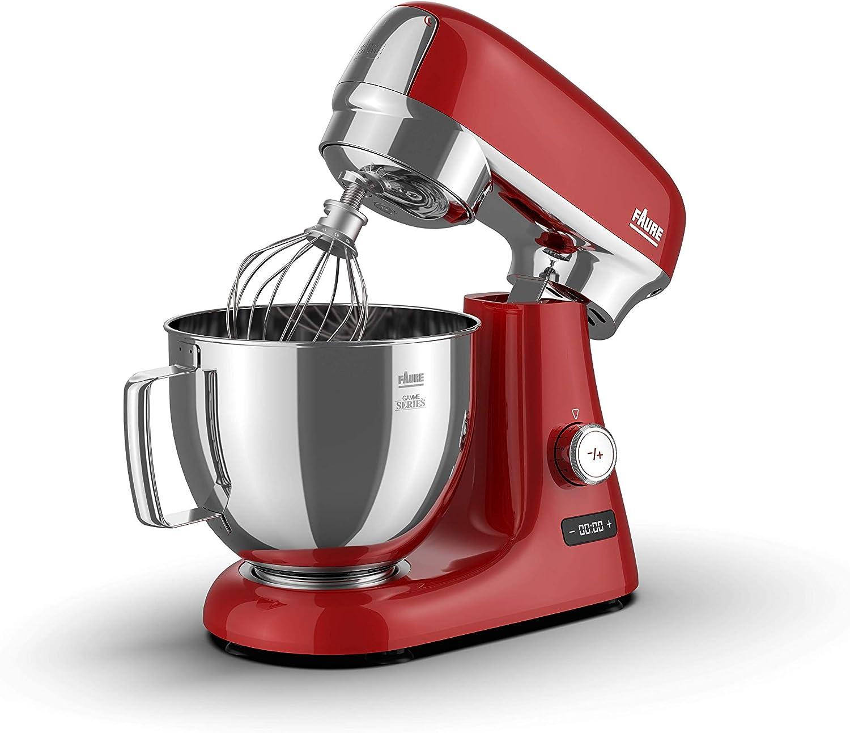 Faure FKM-104MS1 Robot - Culinario (4,8 L), color rojo: Amazon.es ...
