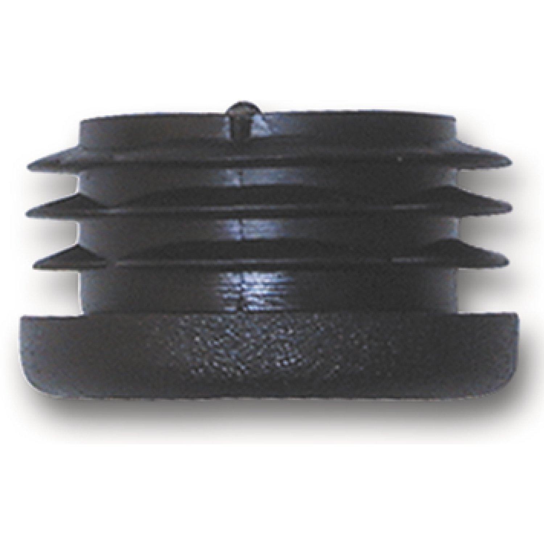4 St/ück Endstopfen SECOTEC Fu/ßkappe f/ür Rohr /ø 20 mm schwarz Endkappe Kunststoff Stopfen