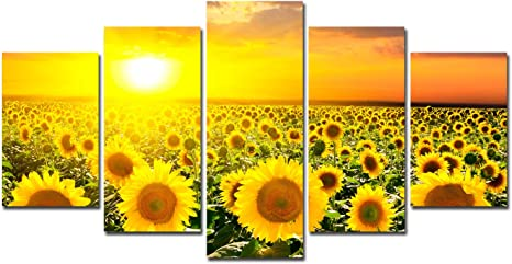 Sunflowers Canvas Giclee Print Unframed Picture Home Decor Wall Art