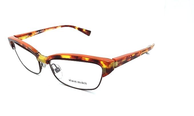 Amazon.com: Alain Mikli Rx Eyeglasses Frames A03056 C026 55x17 ...