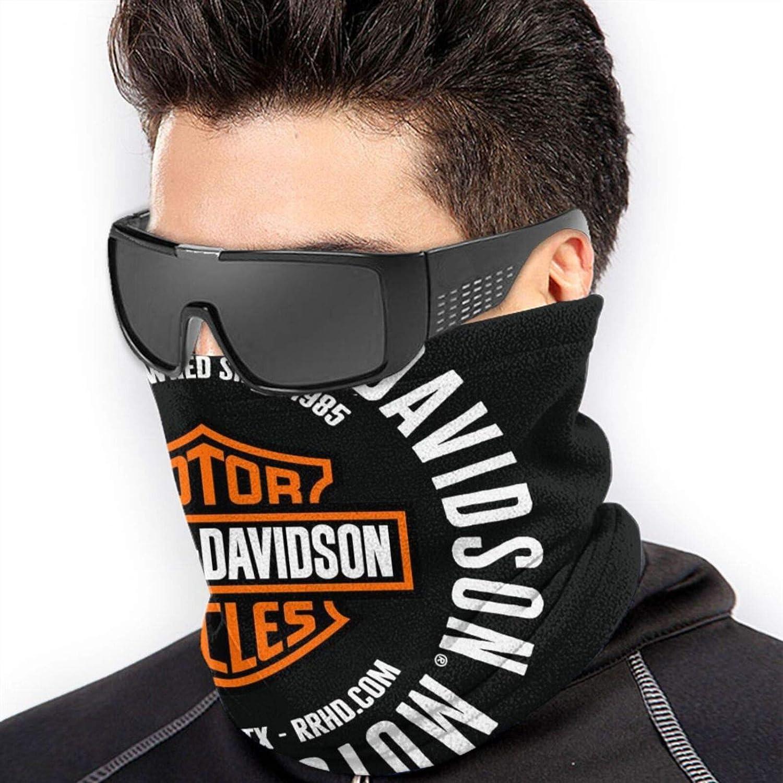 Harley Davidson Logo Microfibra Scaldacollo Sciarpa Morbida Unisex Antivento Sport Escursionismo Novit/à Fascia