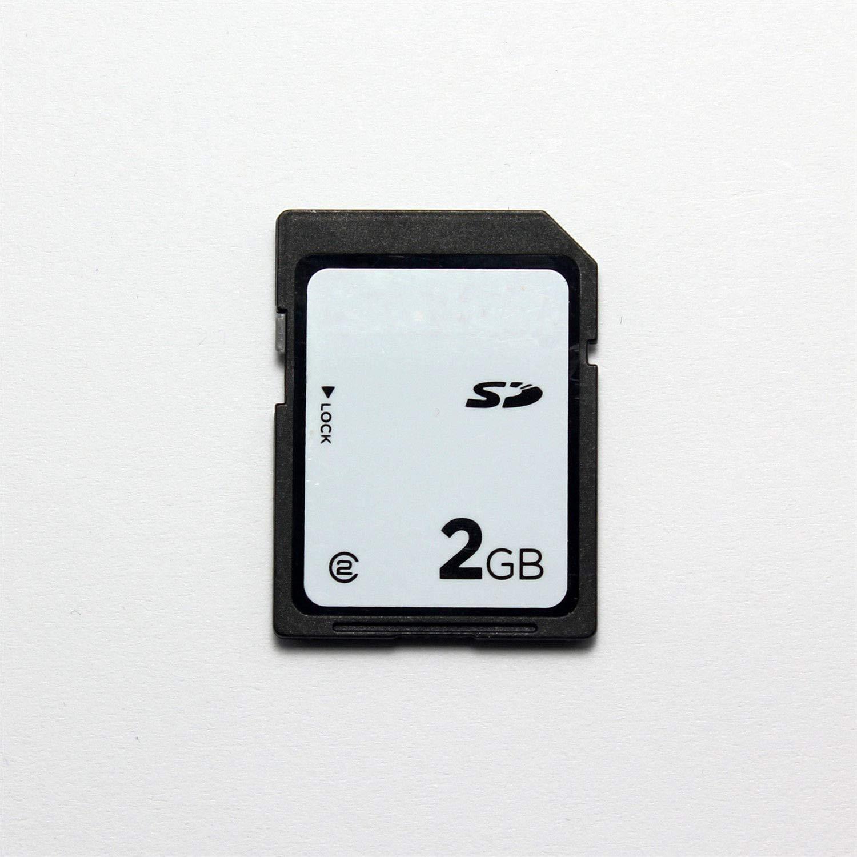 FidgetKute Genuine 2GB SD Card Class 2 Non HC, Standard SD Card 2GB for Old Cameras