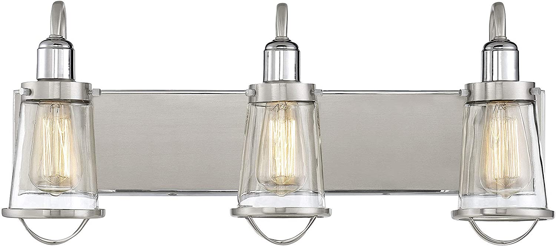 Savoy House 8-1780-3-111 Lansing 3-Light Bathroom Vanity Light (24