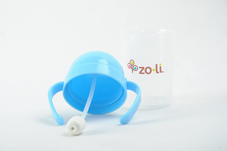 ZoLi Bot Straw Sippy Cup Blue