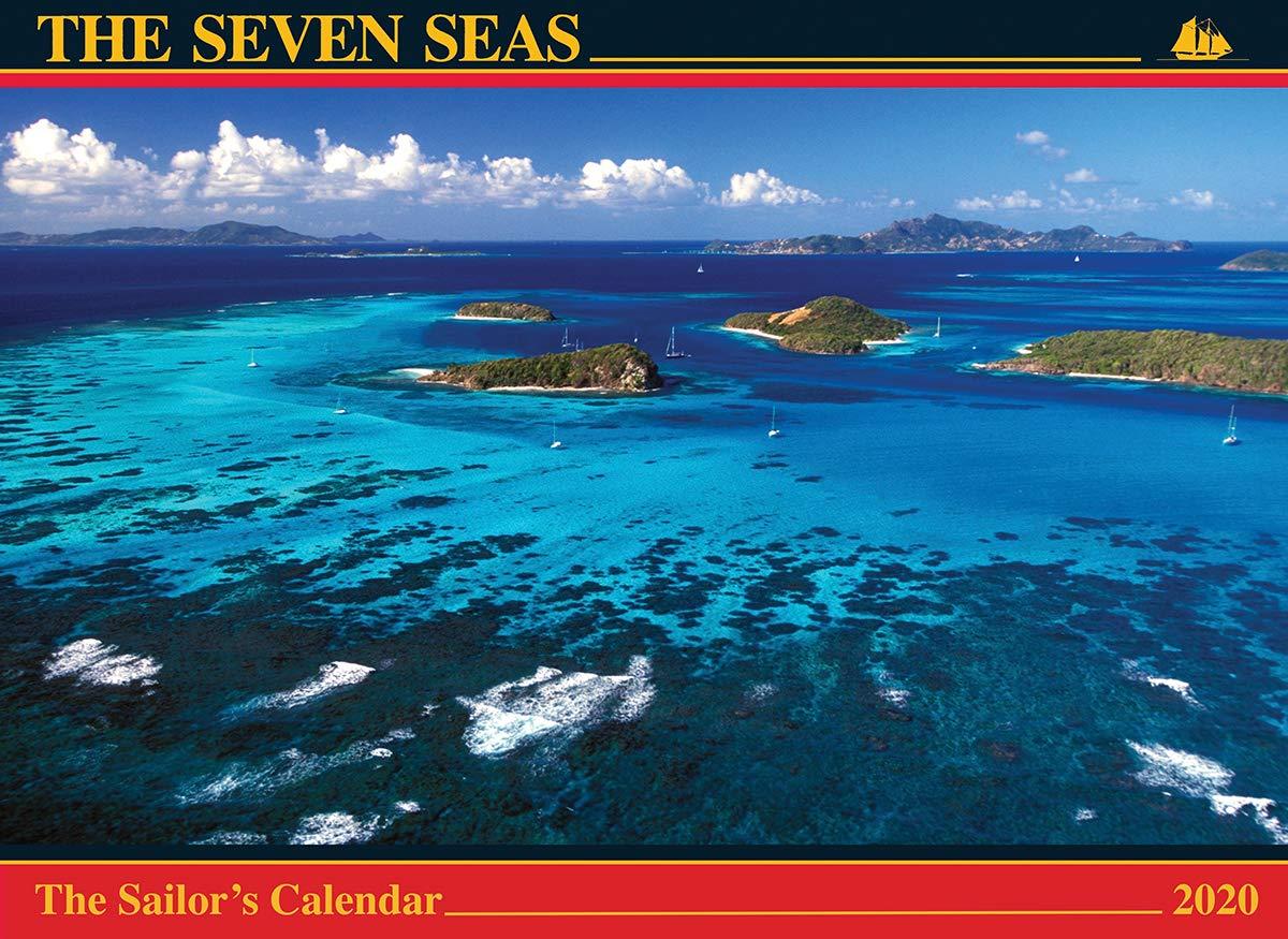Seven Seas Calendar 2020: The Sailor's Calendar by Albatross