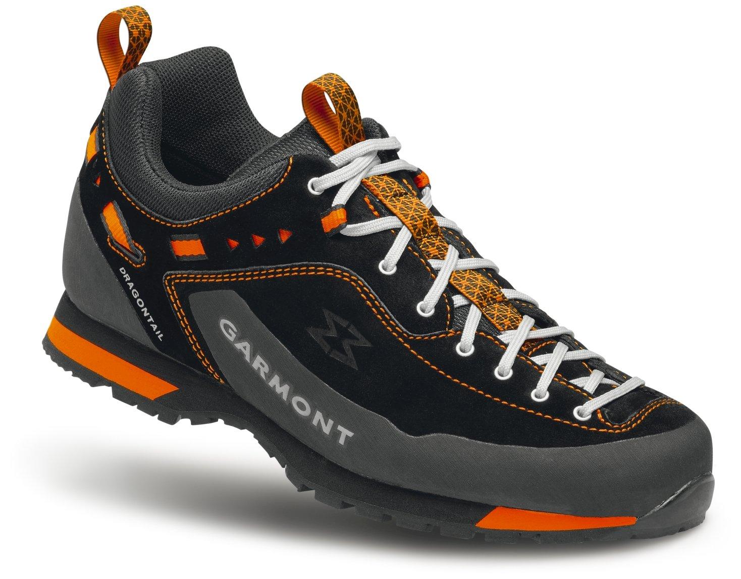 Garmont Men's Dragontail LT Approach Training Shoes B00TJ034IM 11 D(M) US|Black/Orange