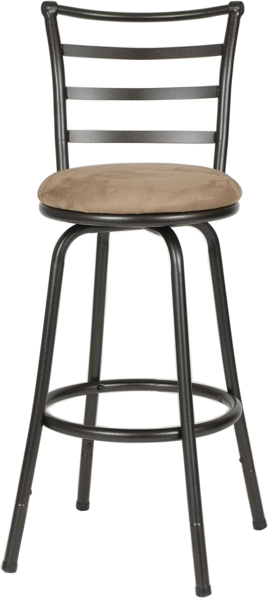 Roundhill Furniture Round Seat Bar/Counter.  sc 1 st  Amazon.com & Bar Stools | Amazon.com islam-shia.org