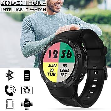 zeblaze Thor 4 Flagship 4 G LTE GPS Smartwatch Android 7.0 ...