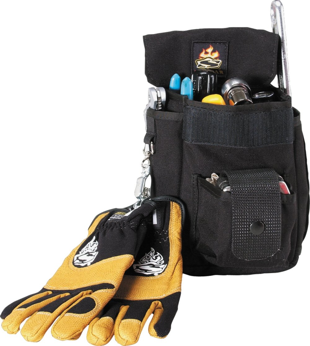SetWear 7.5-Inch H x 6.5-Inch W Combo Tool Pouch - Black by Setwear (Image #1)
