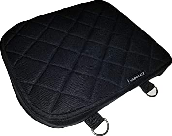 Gel Pad Seat Cushion for Motorcycles with Memory Foam Passenger