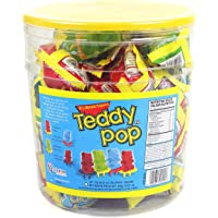 Teddy Pop Candy Rings - 30 Count Variety Pack