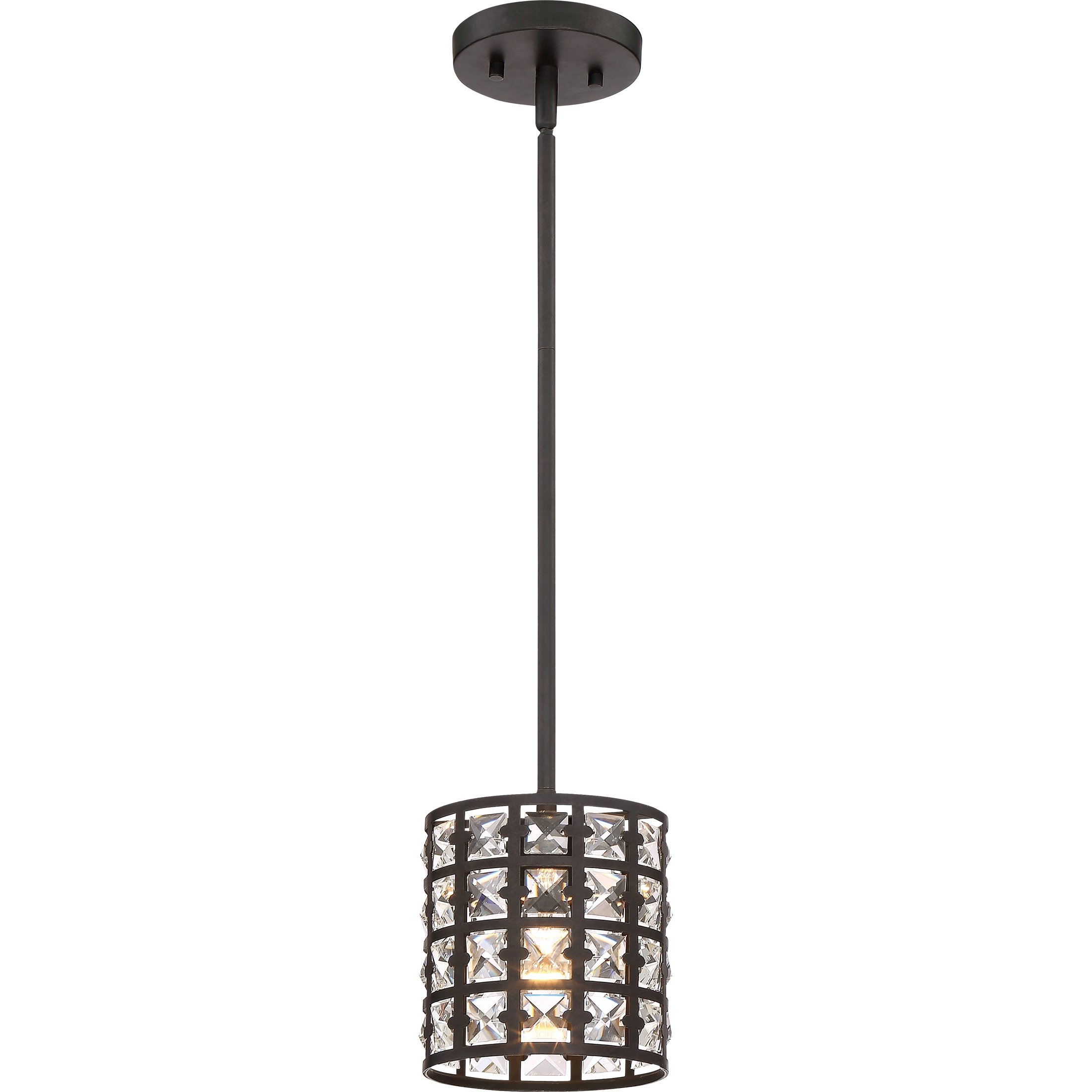 Quoizel One Light Mini Pendant LXY1506IB, Small, Imperial Bronze by Quoizel (Image #1)