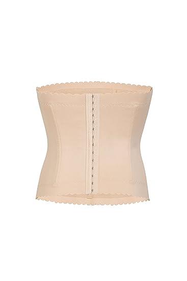4e50e197c01 Suktat Women s Waist Trainer Girdle Shaper Tummy Control Hook Corset Nude S