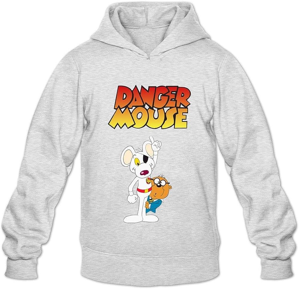 Men Danger Mouse Custom 100/% Cotton Hoddies by Mjensen