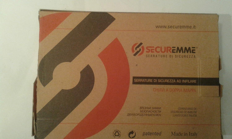 SECUREMME 2028 (Italy)High Security Double Bit Lever Deadbolt Lock 3 Keys.Anti Pick - - Amazon.com