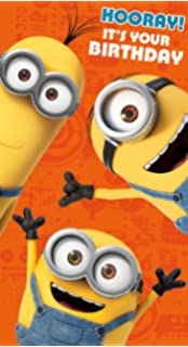 Minions Movie MM020 Greeting Card