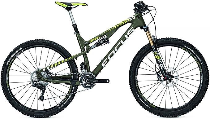 Focus Mountain Bike Spine C SL 22 g 27.5 Hombre Carbon, olivgreenm: Amazon.es: Deportes y aire libre