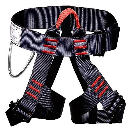 Arnés de escalada, protección Ounuo para piernas, cinturón de ...