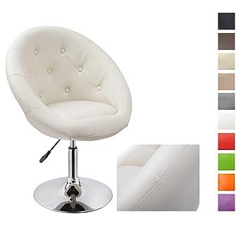 Fauteuil de salon Cr¨me fauteuil club Beige similicuir fauteuil