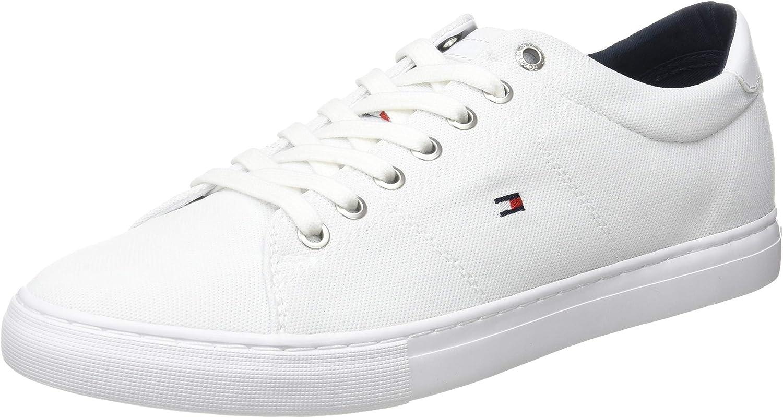 Tommy Hilfiger Seasonal Textile Sneaker, Zapatillas para Hombre