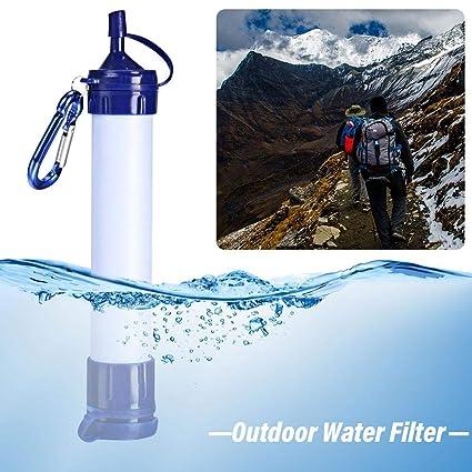 3f476c067db0bc Amazon.com  DLMZY Outdoor Camping Werkzeuge Tragbare Wasserfilter  Luftreiniger Camping Ausrüstung Wasserflaschen Wasserflaschen und  Trinkwerkzeug Kit  Home ...