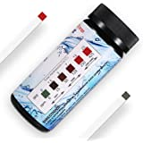 Water Hardness Test Strips,Upgraded 100ct,0-425 mg/L, HoneForest Hard Water Test Kit, Testing Total Hardness of Water Softener, Drinking Water Quality, Pool Water,etc